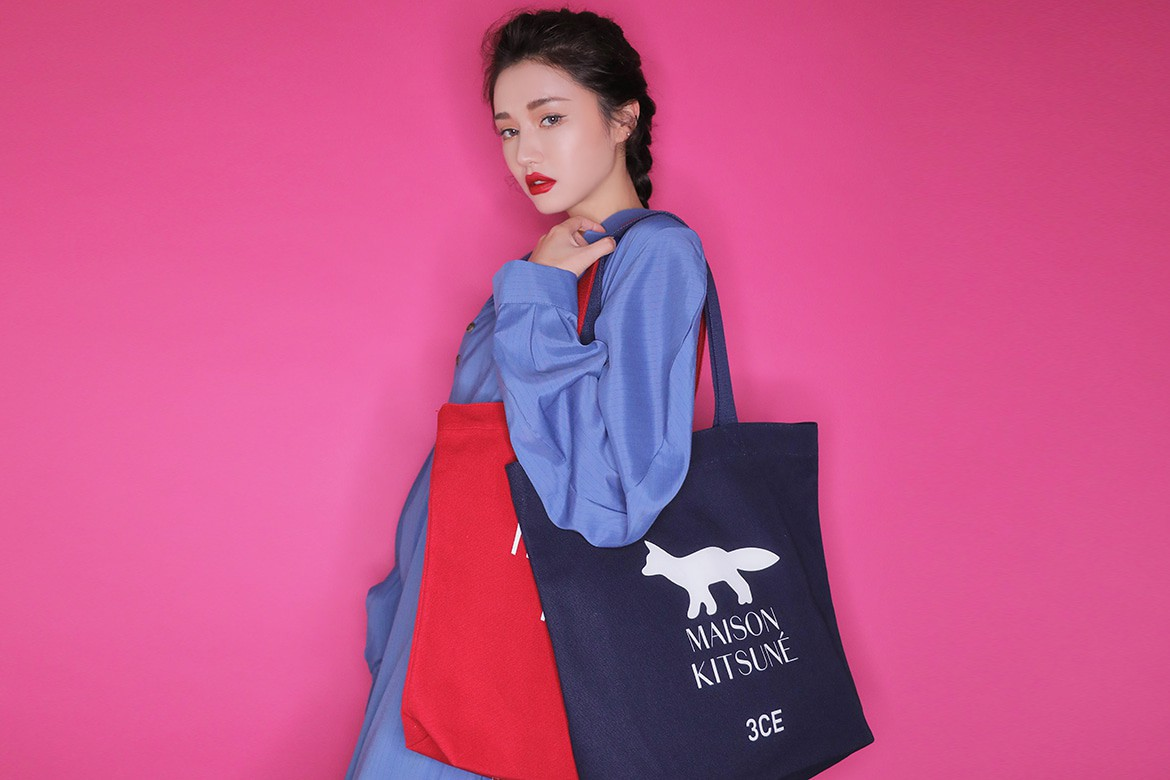 3CE Maison Kitsune Collection