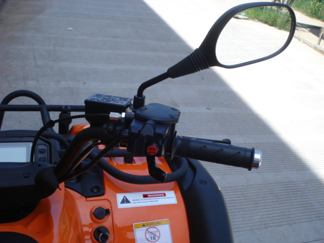 500cc 4wd Rubicon ATV Farm 4 wheeler mirror control