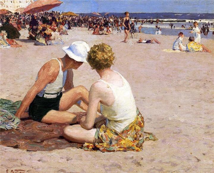 Edward Henry Potthast - A Summer Vacation