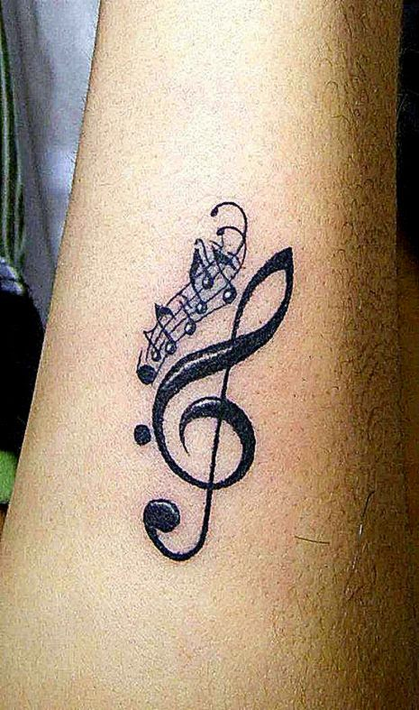 Music Themed Tattoos Collection  Design Moderne
