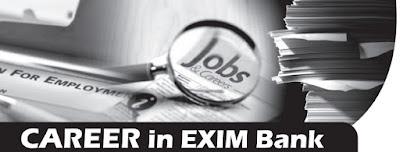 """exim bank job"""