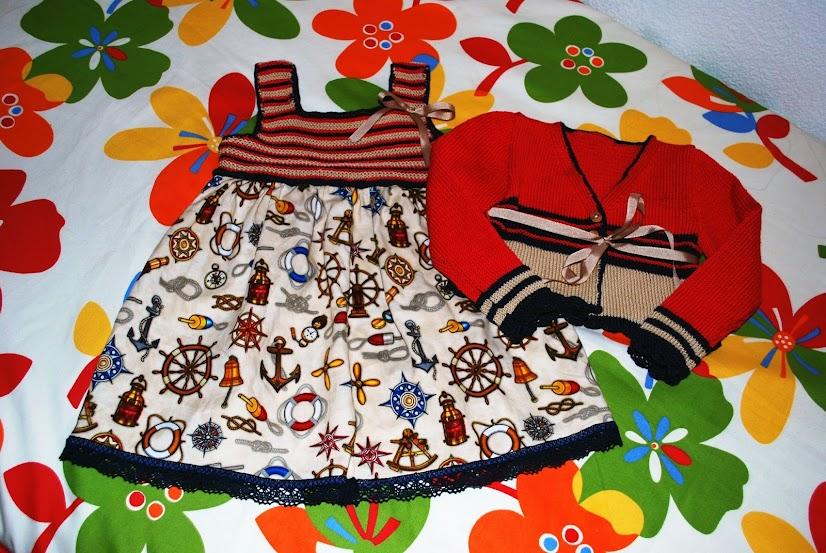 vestido - Vestido con canesu de punto arroz DSC_0393