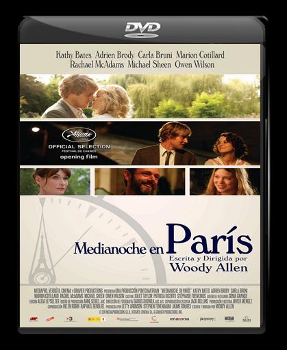 Medianoche en París - Dvdfull - Español Latino