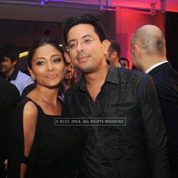 Kalyani Chawla and Amol Vadhera at Gaurav Gupta's show, held in Delhi.