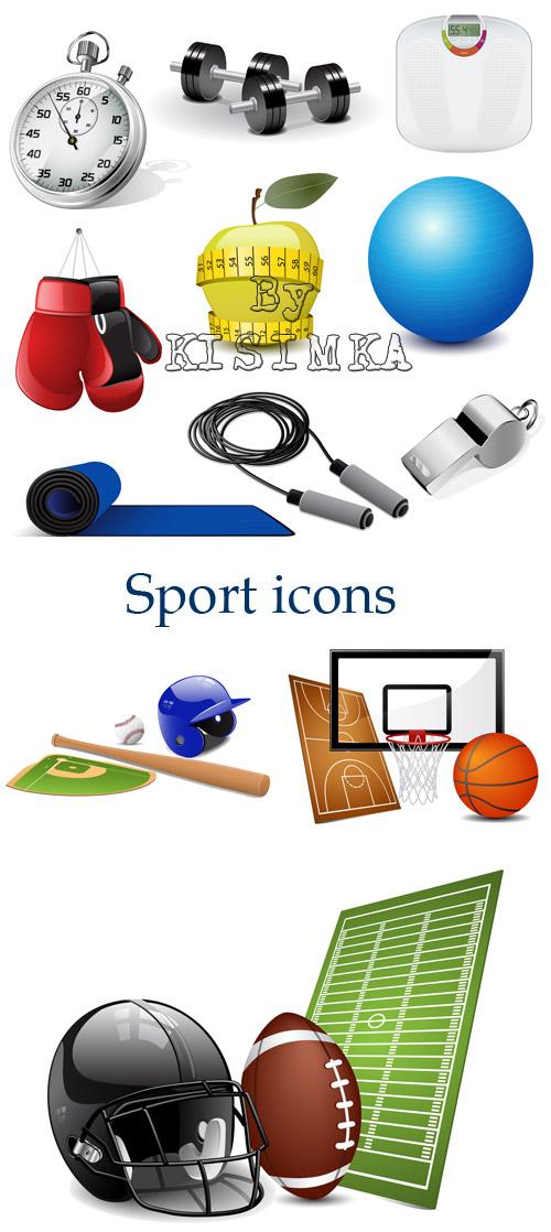 Stock: Sport icons