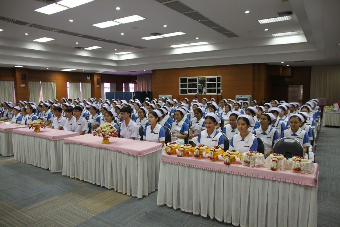 วิทยาลัยพยาบาลบรมราชชนนี นครราชสีมา ร่วมกับโรงพยาบาลมหาราชจัดกิจกรรมฝากตัวเป็นศิษย์