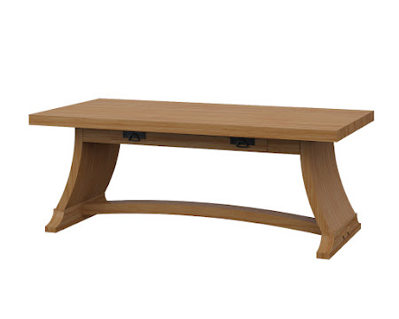Adagio Coffee Table Manor Hickory