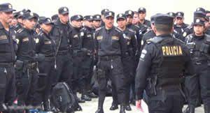 Elementos de la PNC brindaran seguridad en todo el departamento