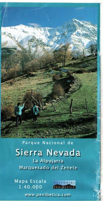Активный отдых в Испании: (пешеходные маршруты: Sierra Nevada)