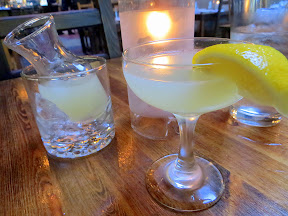 Fratelli restaurant, simple Italian, Pearl district, rustic Italian, Lemon Drop that uses Limoncello