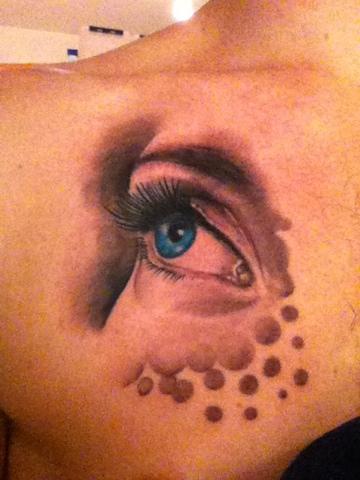 Tattoo, Eye, Helsinki, Jan Axel