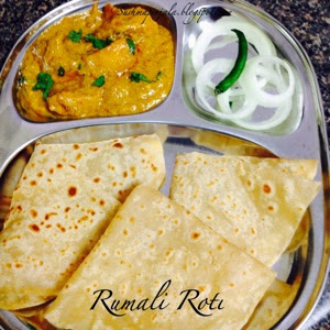 Rumali Roti ~ Indian Bread