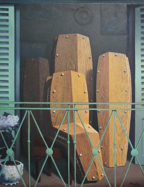Magritte the westologist for Balcon meaning