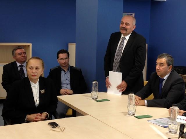 Candidaţii USL Suceava folosesc Spitalul Judeţean în campania electorală