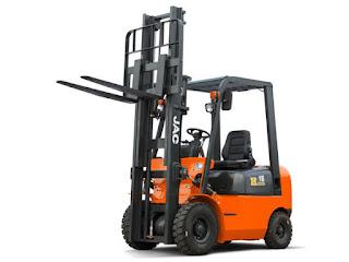 Xe nâng JAC 1.5 tấn diesel