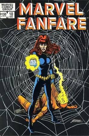 Viuda Negra - George Perez - Marvel Fanfare