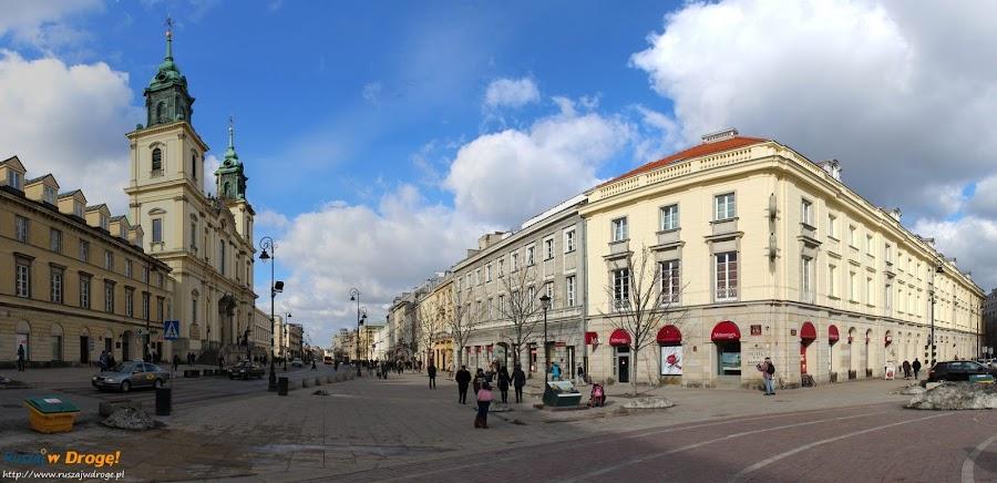 kościół Świętego Krzyża na Krakowskim Przedmieściu