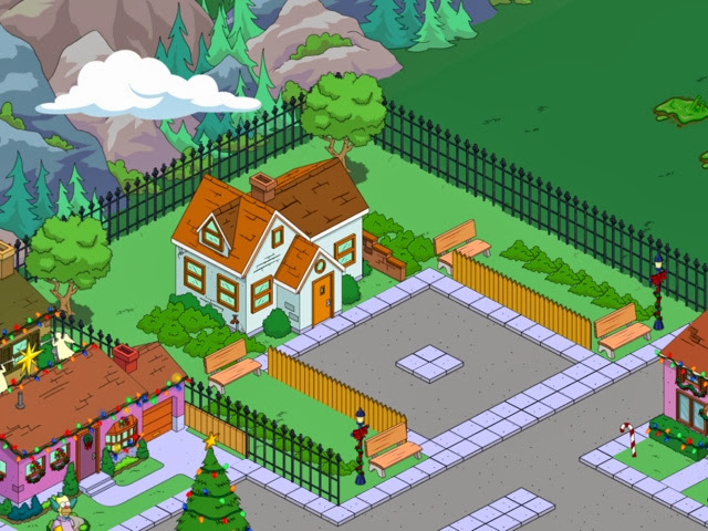 simpsons tapped out mas ideas para decorar