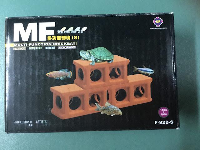 đồ chơi cá tép hồ thủy sinh - hang trú ẩn cá tép 3 khối