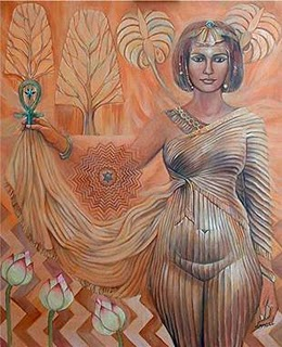 Asherah And The Tree Of Life Image