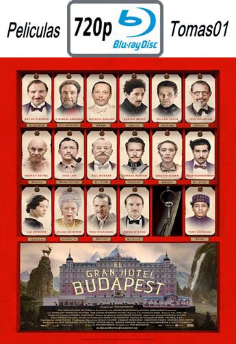 El Gran Hotel Budapest (2014) BRRip 720p