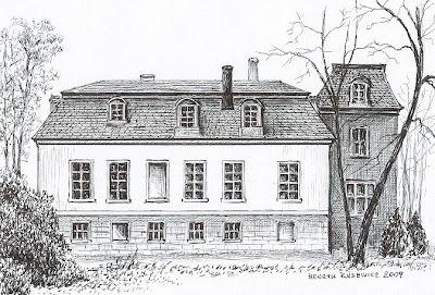 Pałac w Górzycy – stan przed 1945 r.
