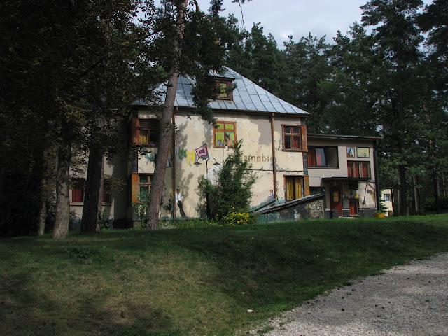 Exterier hostelu