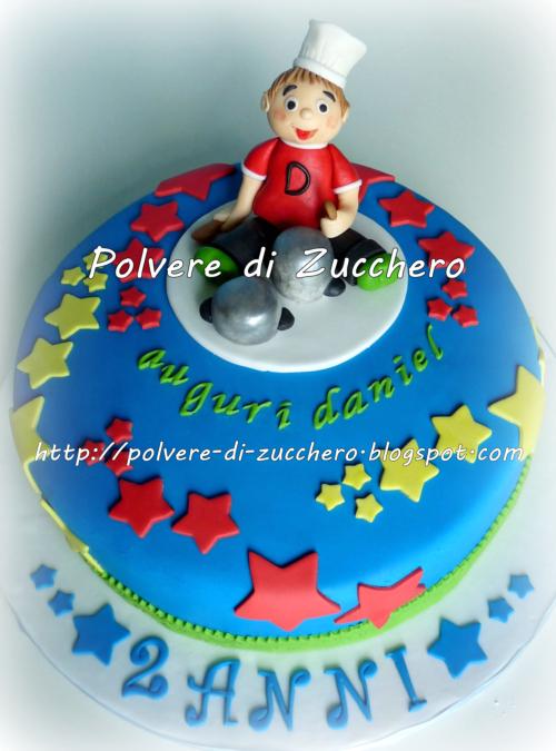 Preferenza Torta di compleanno: il piccolo chef | Polvere di Zucchero:cake  UK86