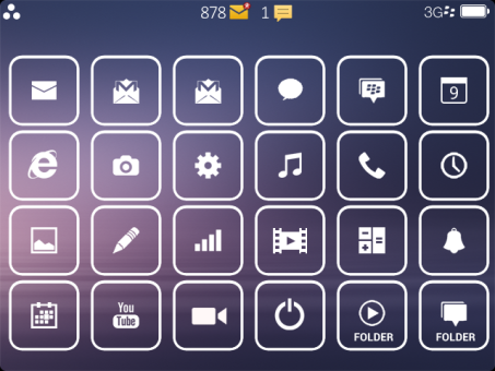 Dorothy Theme for BlackBerry Preview 1