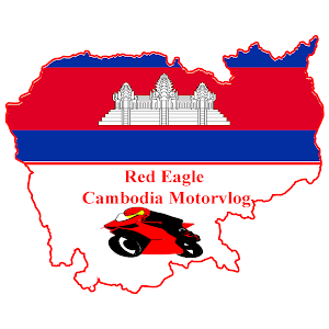 Who is Red Eagle Cambodia MotorVlog?