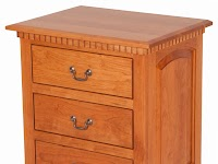 Cherry Nightstands with Drawers