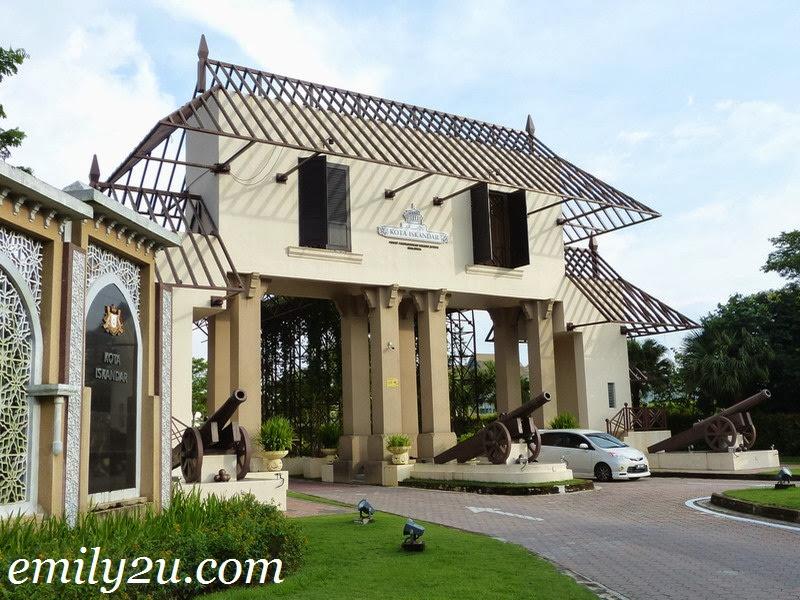 Kota Iskandar, Nusajaya