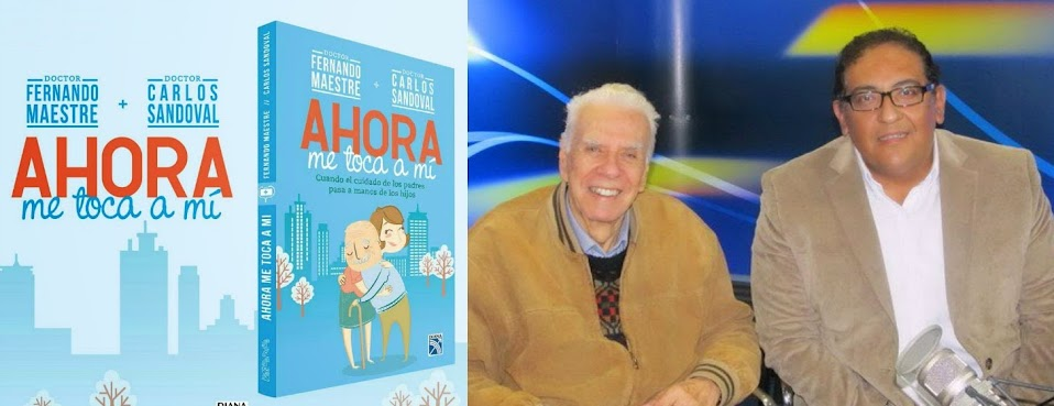 EX ALUMNOS FERNANDO MAESTRE Y CARLOS SANDOVAL PUBLICAN LIBRO SOBRE EL CUIDADO DE LOS PADRES EN MANOS DE LOS HIJOS