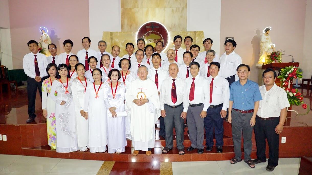 Gia đình PTTT Phú Hoà Mừng Bổn Mạng