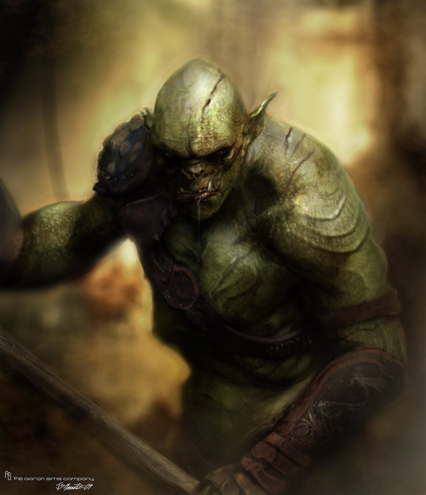 monsters amp beasts database orc