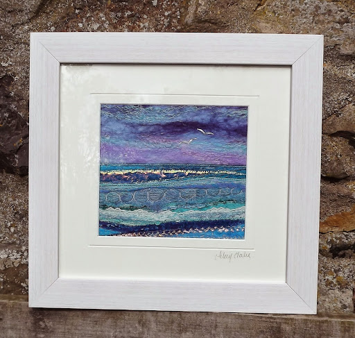 Peace by the Sea, by Scottish artist Aileen Clarke