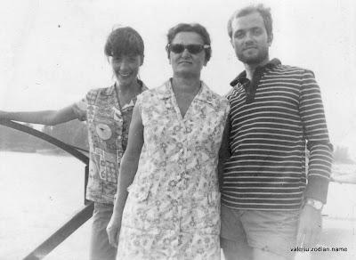 Mariana Zodian, Eugenia Zodian and Valeriu Zodian