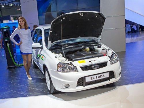 Первые электромобили Lada добрались до Ставропольского края.