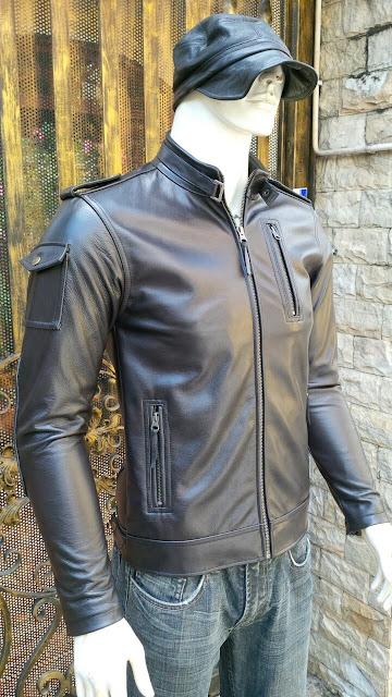 áo khoác da nam cao cấp thời trang moto