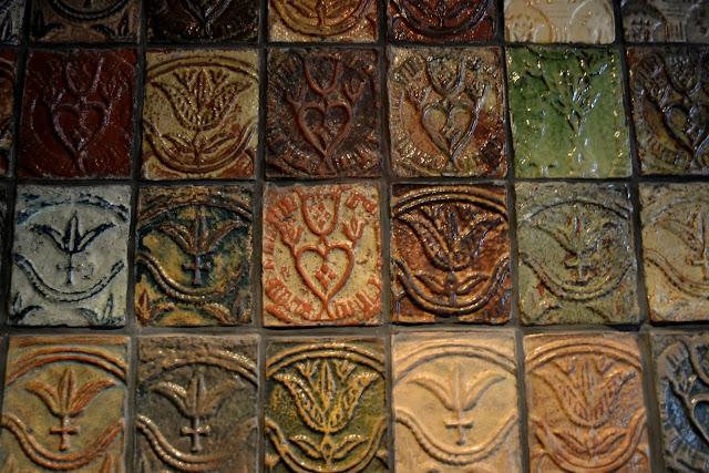 Музей Керамической Плитки, Дойлстаун, Пенсильвания (Moravian Pottery and Tile Works, Doylestown, PA)