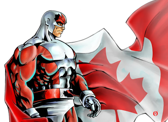 Captain Canuck Canada Day