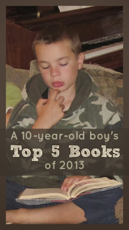 A 10-year-old boy's top five book recommendations of 2013