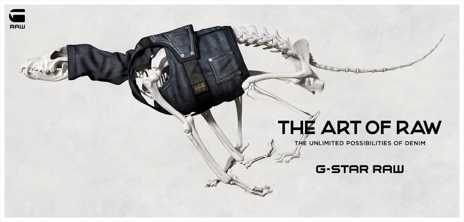 *G-STAR 2013 春夏新廣告「The Art of Raw」:1分鐘完整呈現單寧製作過程! 1