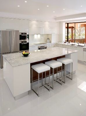 Natural modern interiors kitchen design ideas recycled second hand kitchens - Factory seconds kitchen cabinets ...