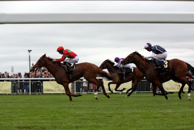 Horse race at Royal Ascot in England