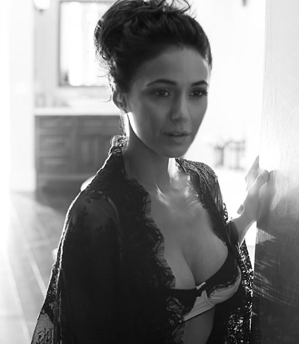Emmanuelle Chriqui in lingerie for