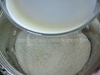 Prajitura cu crema de cocos prepararea cremei