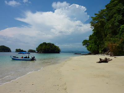 Lunch in Coiba National Park