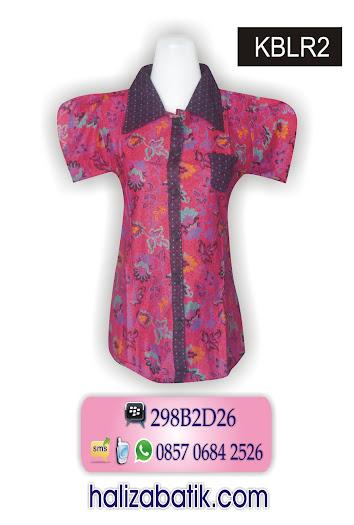 KBLR2 Baju Batik Terbaru, Grosir Batik, Busana Batik, KBLR2