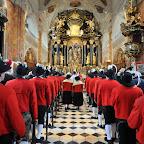Weißer Sonntag - Schützenjahrtag - Einzug - Pontifikalmesse in der Stiftskirche Wilten - 07.04.2013